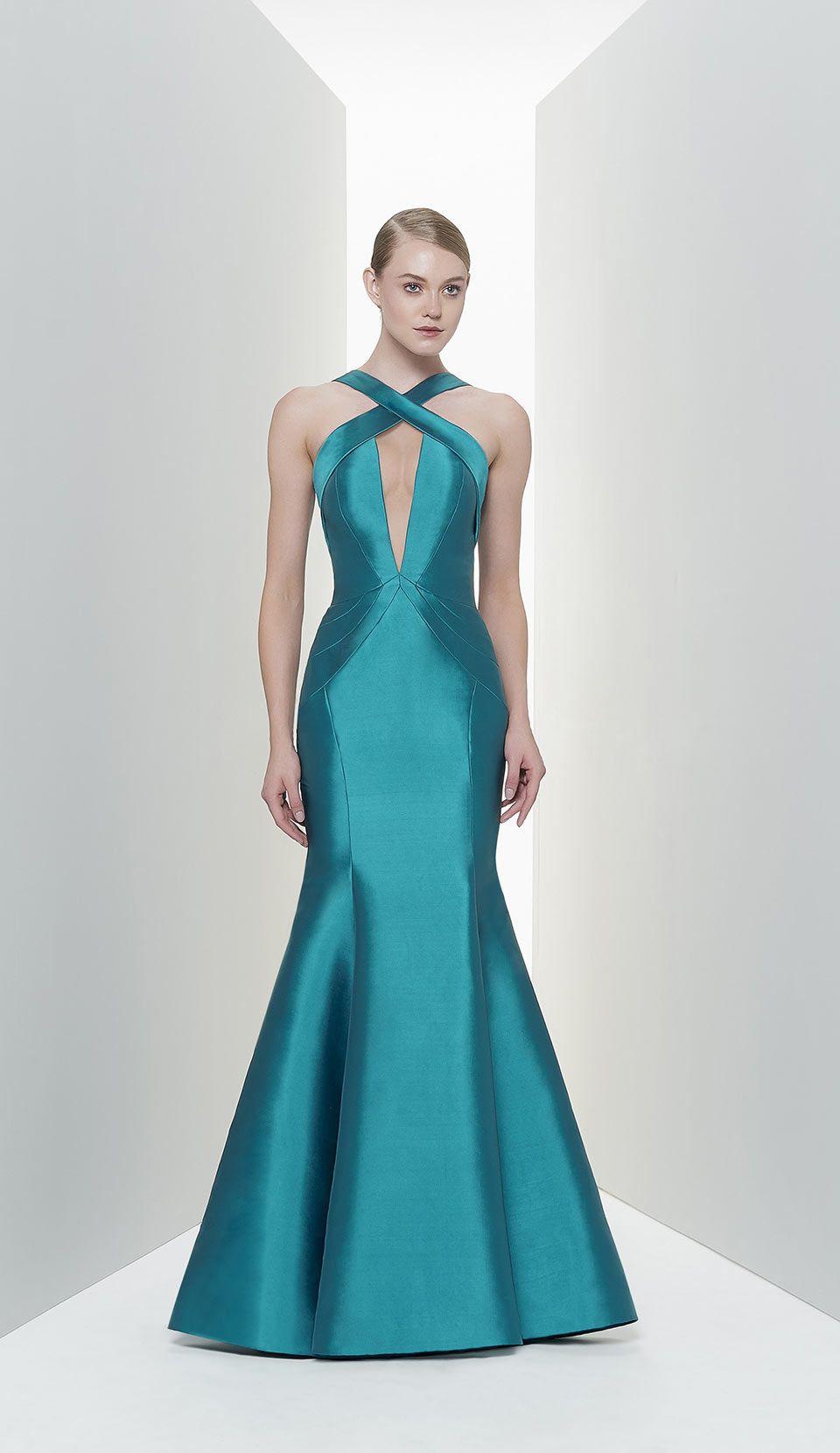 Vestido azul renda encomenda global