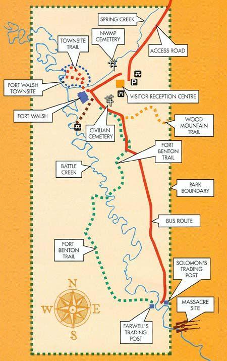 map fort walsh saskatchewan Google Search Fort Walsh SK