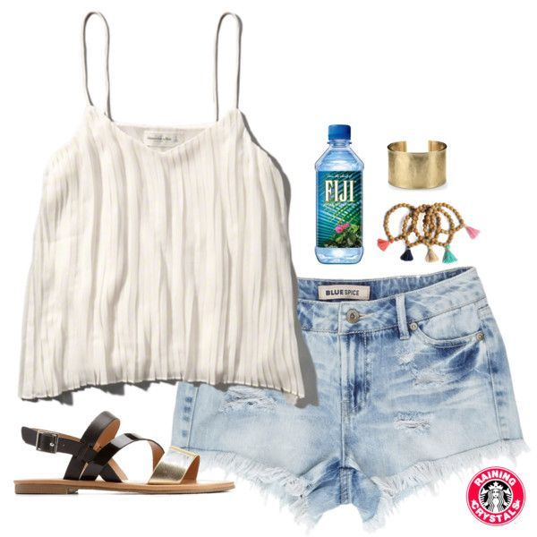 A fashion look from March 2016 featuring Charlotte Russe sandals and Blue Nile bracelets. Browse and shop related looks.