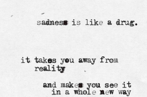 """...it takes you away from reality..."""