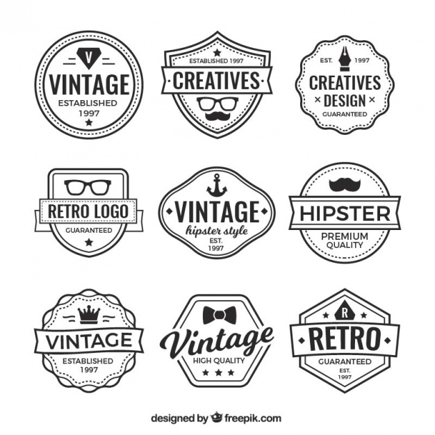 Enjoy These Vintage Label Images For Free In 2020 Retro Logos Vintage Logo Vector Free