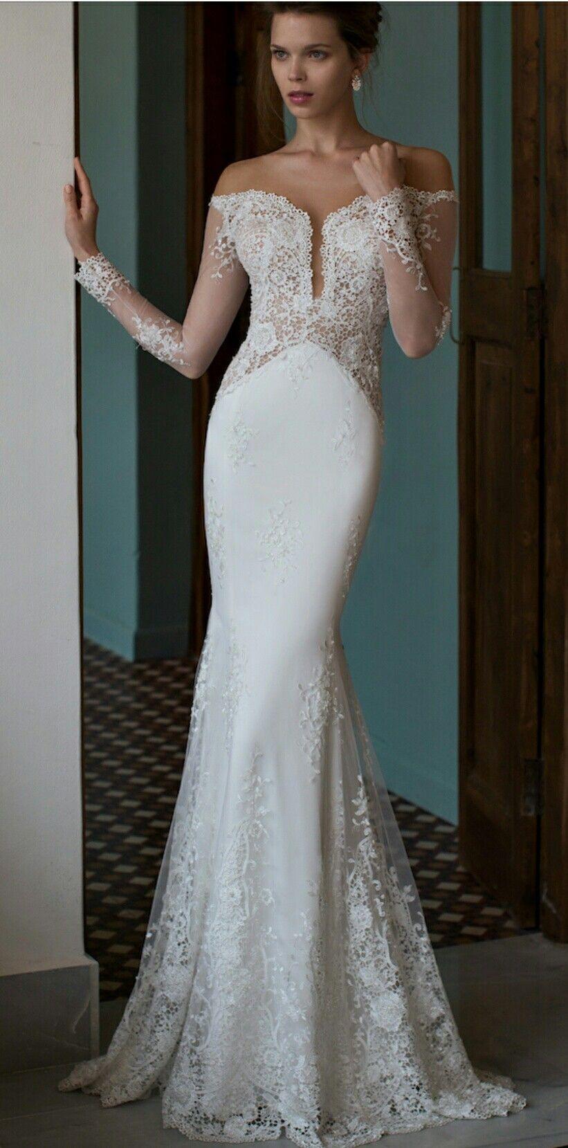 Riki Dalal Sheer Wedding Dress Wedding Dress Long Sleeve Informal Wedding Dresses [ 1659 x 821 Pixel ]
