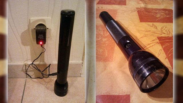Hack a Standard Mag-Lite into a Rechargeable Flashlight