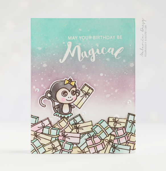 [Guest] Make a Birthday Card with Holiday Themed Products – Melania Deasy