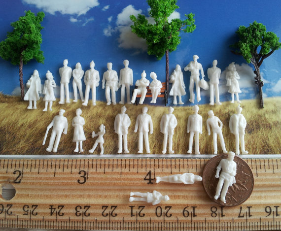 20 diorama little people miniature figure diy figurine miniature a