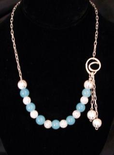 Blue Jade, Glass beads
