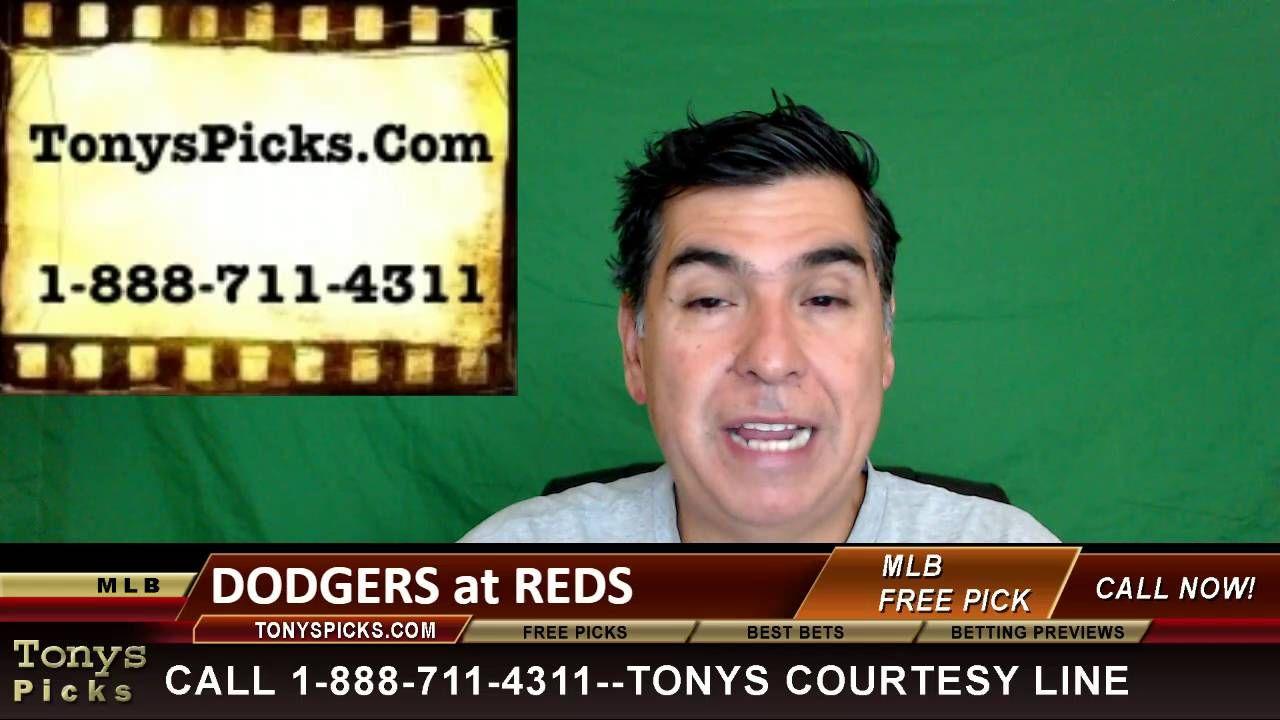 La Dodgers Vs Cincinnati Reds Pick Prediction Mlb Baseball Odds Series Mlb Mlb Baseball Cincinnati Reds