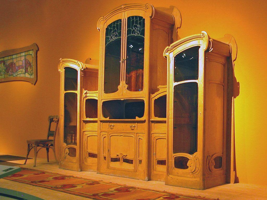 Une armoire de Victor Horta, 1830-1958, à Bruxelles   Art ...