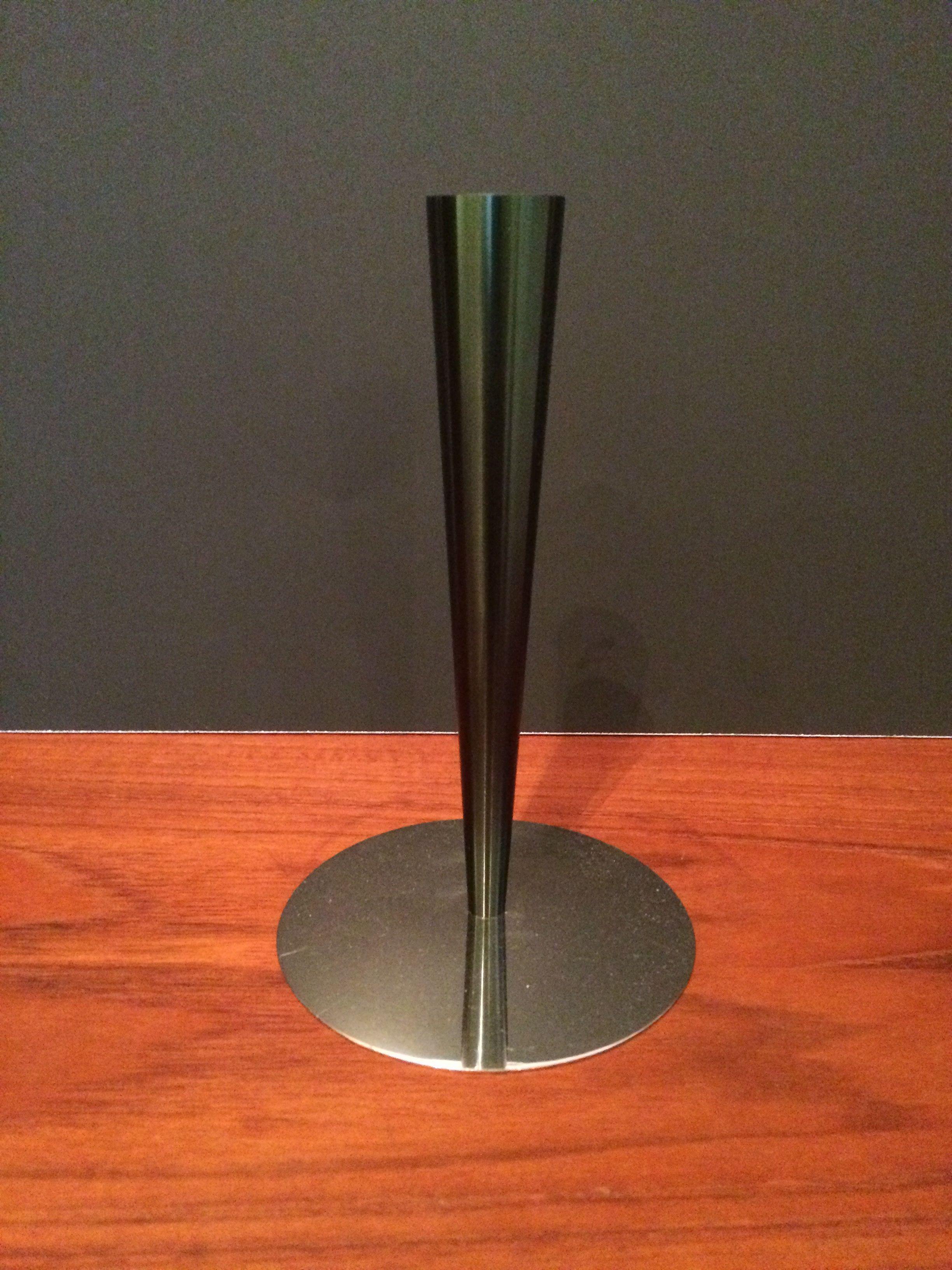 Taper Candle Holder Or Bud Vase By Menu Danish Steel
