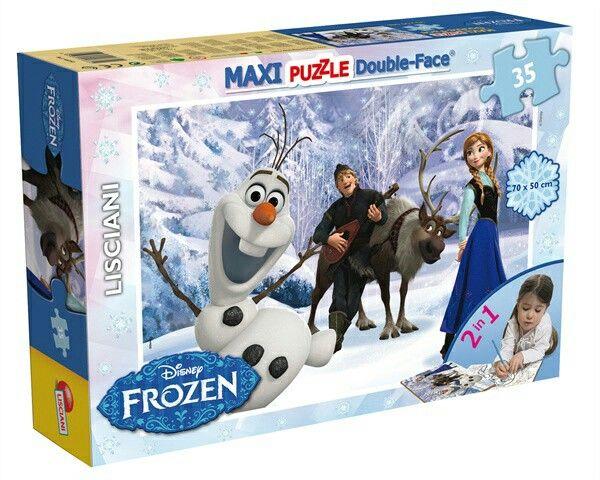 #puzzle #Frozen #doubleface