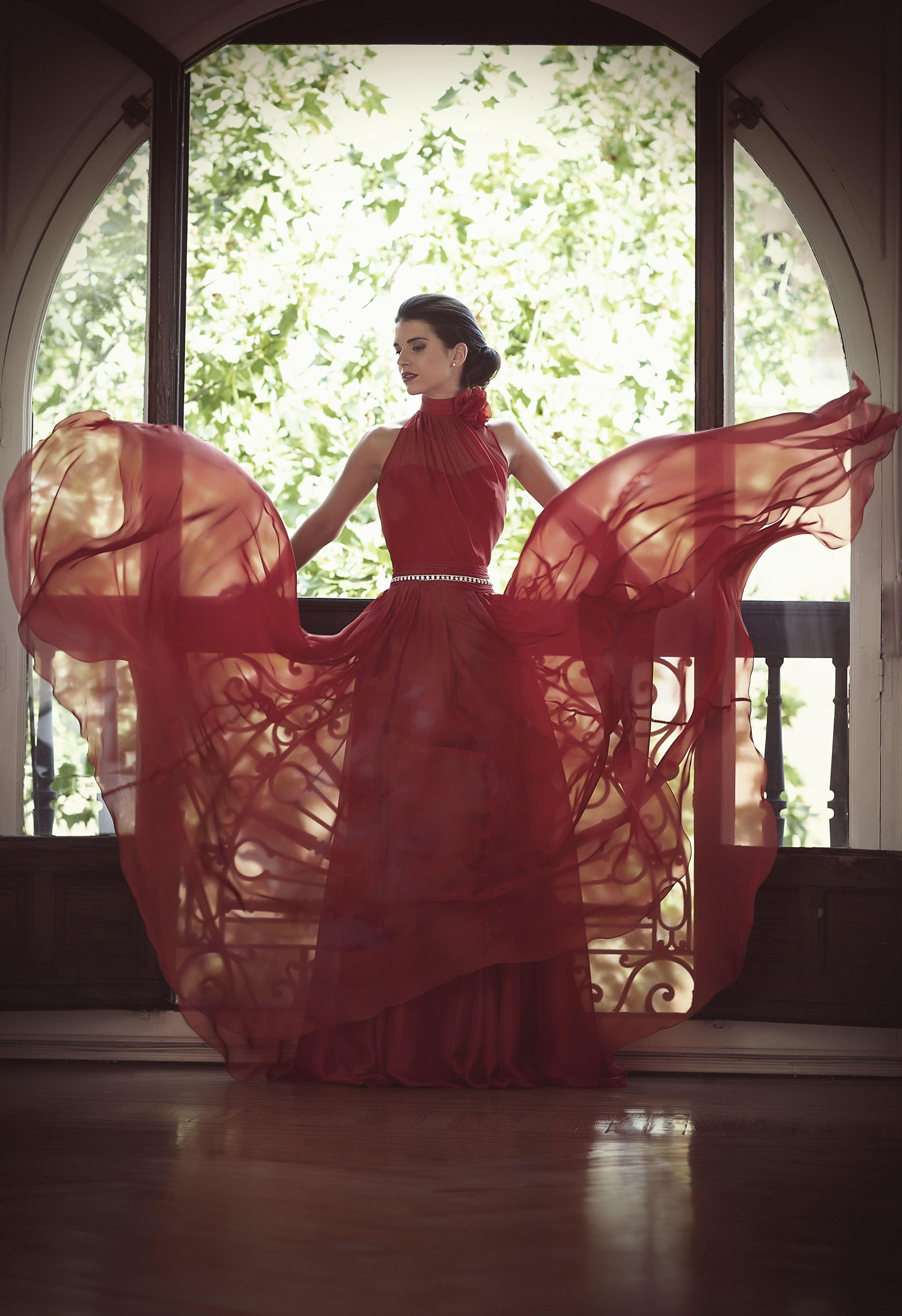 Vestido de fiesta. Colección 2014. #rojo #red