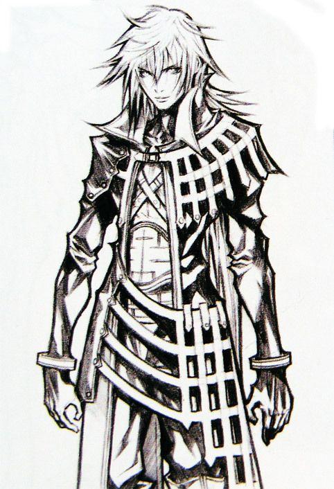 Génesis Concept Art Final Fantasy Vii Crisis Core Ffvii Final