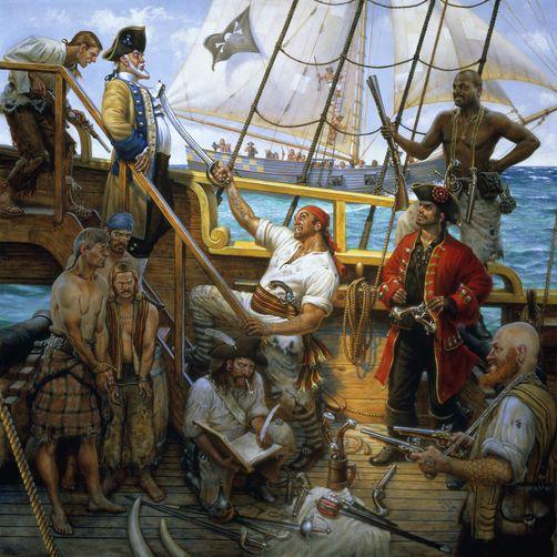 Como era a vida de um pirata?