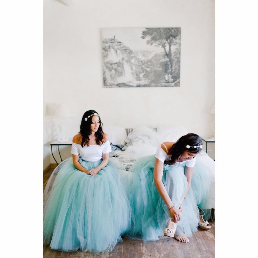 2016 New Tutu Skirt For Women Puffy Floor Length Flexible Waist Tulle Skirt For Bridesmaid Evening Party Modest Junior Bridesmaid Dresses Styles For Bridesmaid Dresses From Enjoyweddinglife, $45.97| Dhgate.Com