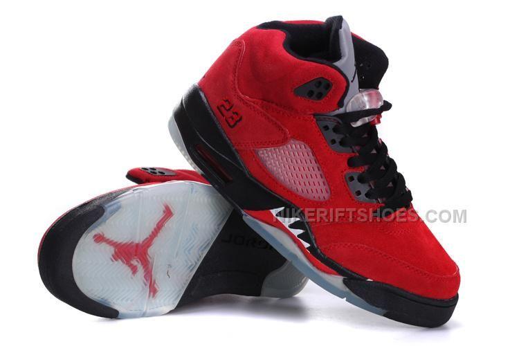detailed look ed556 cb537 Jordan 5 GS Toro Bravo Raging Bull Red Suede Black in 2019   Nike Air  Jordan 5   Jordan 5, Jordan, Toros bravos