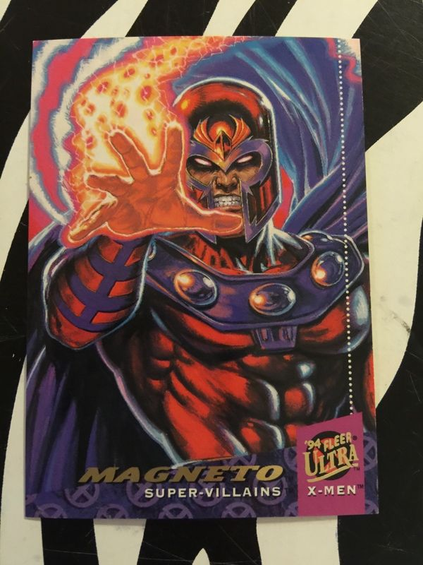 94 Fleer Ultra X Men Card 55 Magneto In Mint Condition In 2020 Marvel Comics Art Marvel Villains Superhero Comic