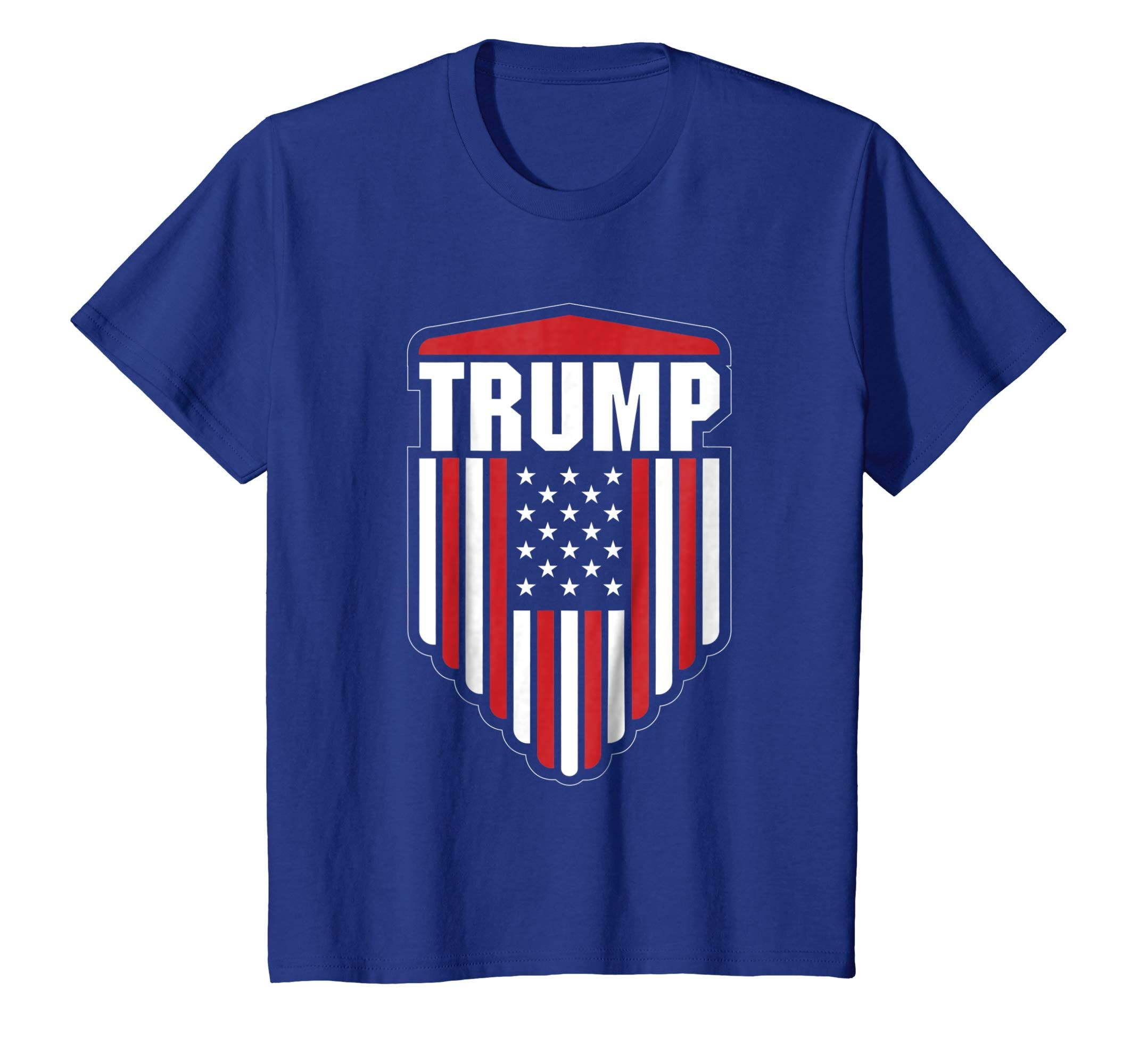1c2ff104747 Amazon.com  Pro Donald Trump Shield Election T-shirt For Men and Women