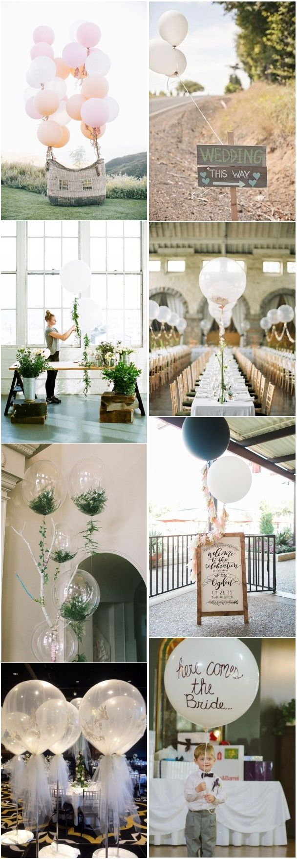 24 Fun and Creative Balloon Wedding Decoration Ideas | Decoration ...