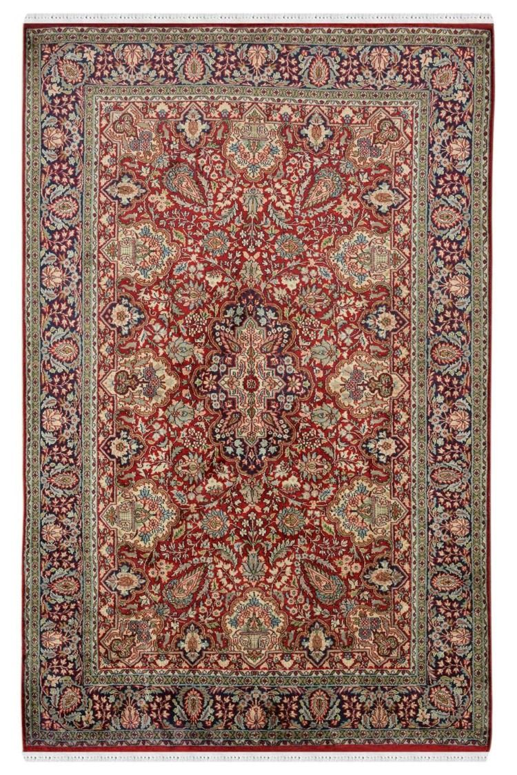 Kashan Motifs Silk Rugs For Sale Online Only At Rugs And Beyond Silk Persian Rugs Silk Carpet Silk Rug