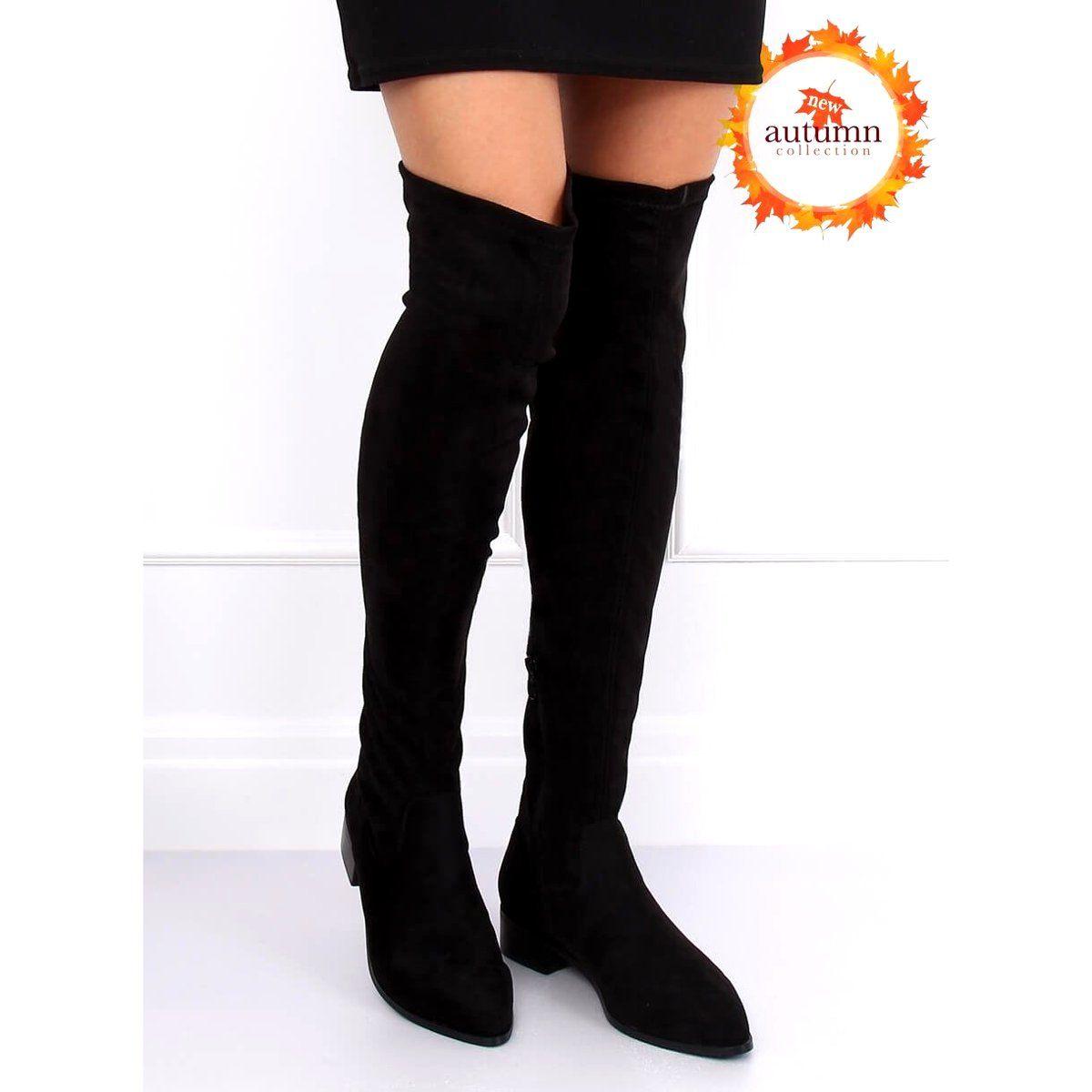 Boots Women S Butymodne Black Thigh High Boots Black Rb34p Black Black Thigh High Boots Black Thigh High Black Boots
