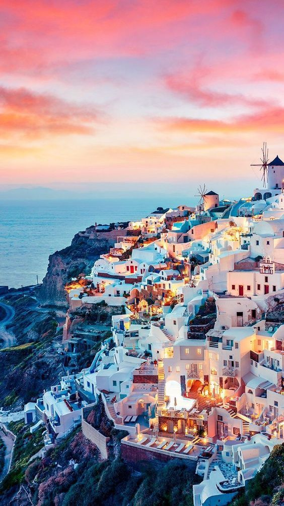 Greece is an ideal location to spend your perfect vacations. Some of the most popular destinations include Santorini Athens and Meteora.