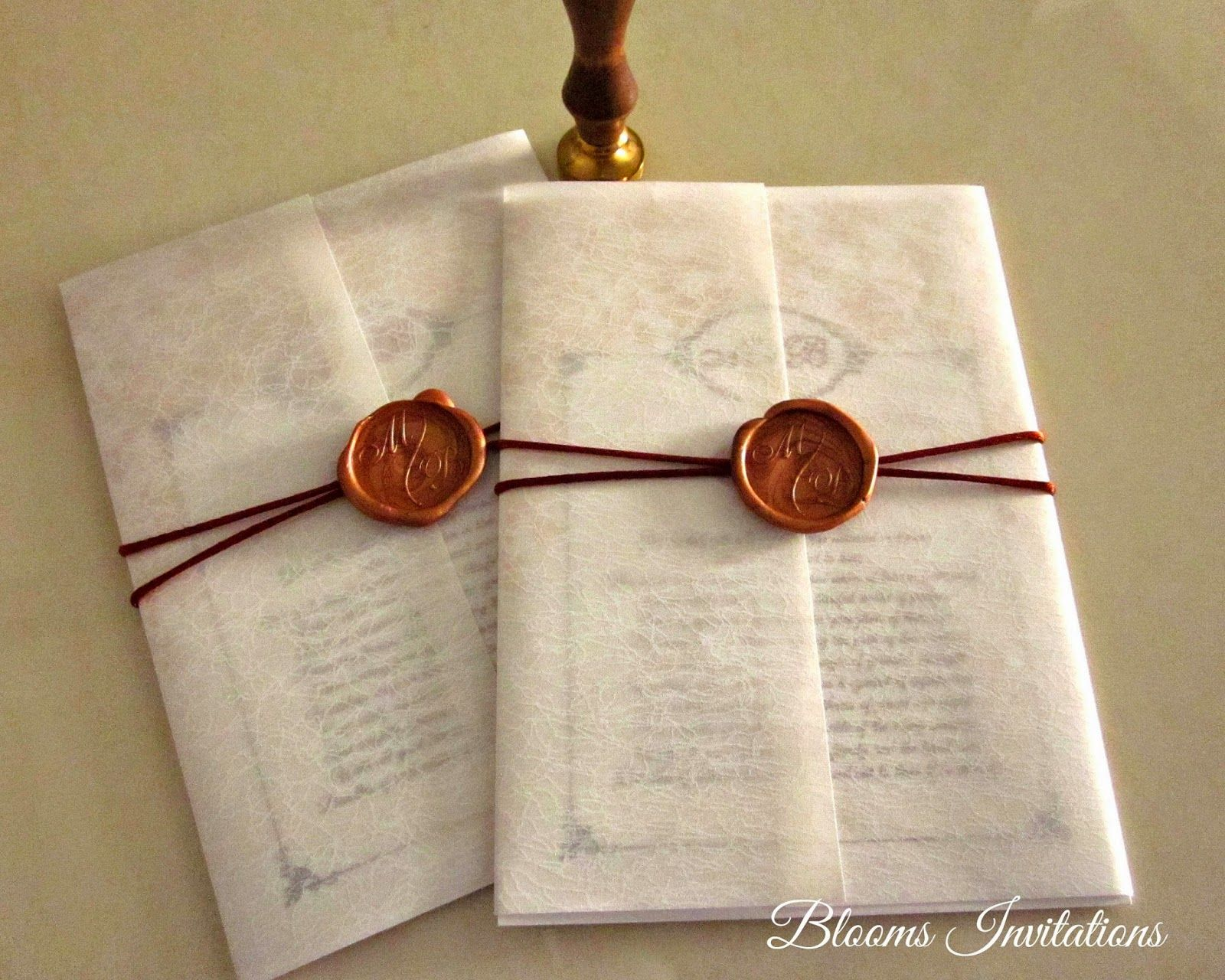 Wax Seal Wedding invitation | Wedding | Pinterest | Wax seals ...