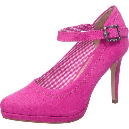 Drindl Tamaris 24456 Damen Knochelriemchen Pumps Amazon De Schuhe