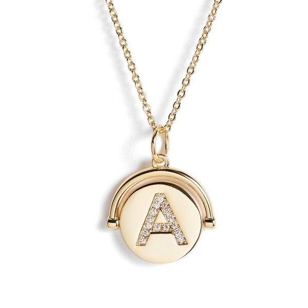 33c08fc6de756 Women's Lulu Dk Love Letters Spinning Initial Necklace (2.700 RUB ...