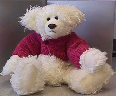 Knitting Patterns Teddy Bear Stuffed Animals : Teddy Bear Sweater Knitting Pattern (Fits 9 or 10 inch bears or other stuffed...