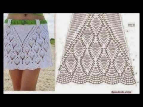 Resultado de imagen de faldas a crochet | Ganchillo 1 | Pinterest ...