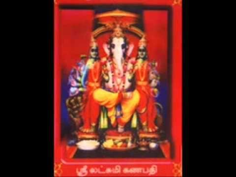 Sri Vinayagar Agaval - Tamil Devotional Song on Lord Ganesh