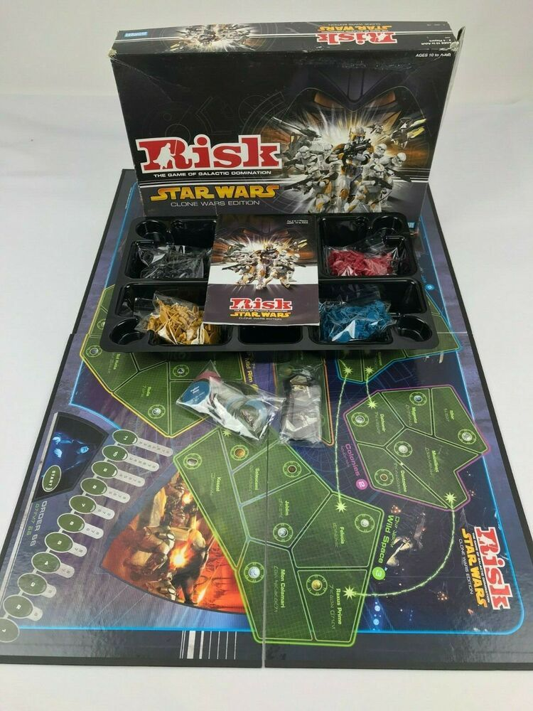 RISK Star Wars Clone War Edition Board Game Replacement