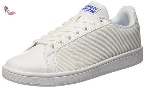adidas Cloudfoam Advantage Clean, Baskets Homme:
