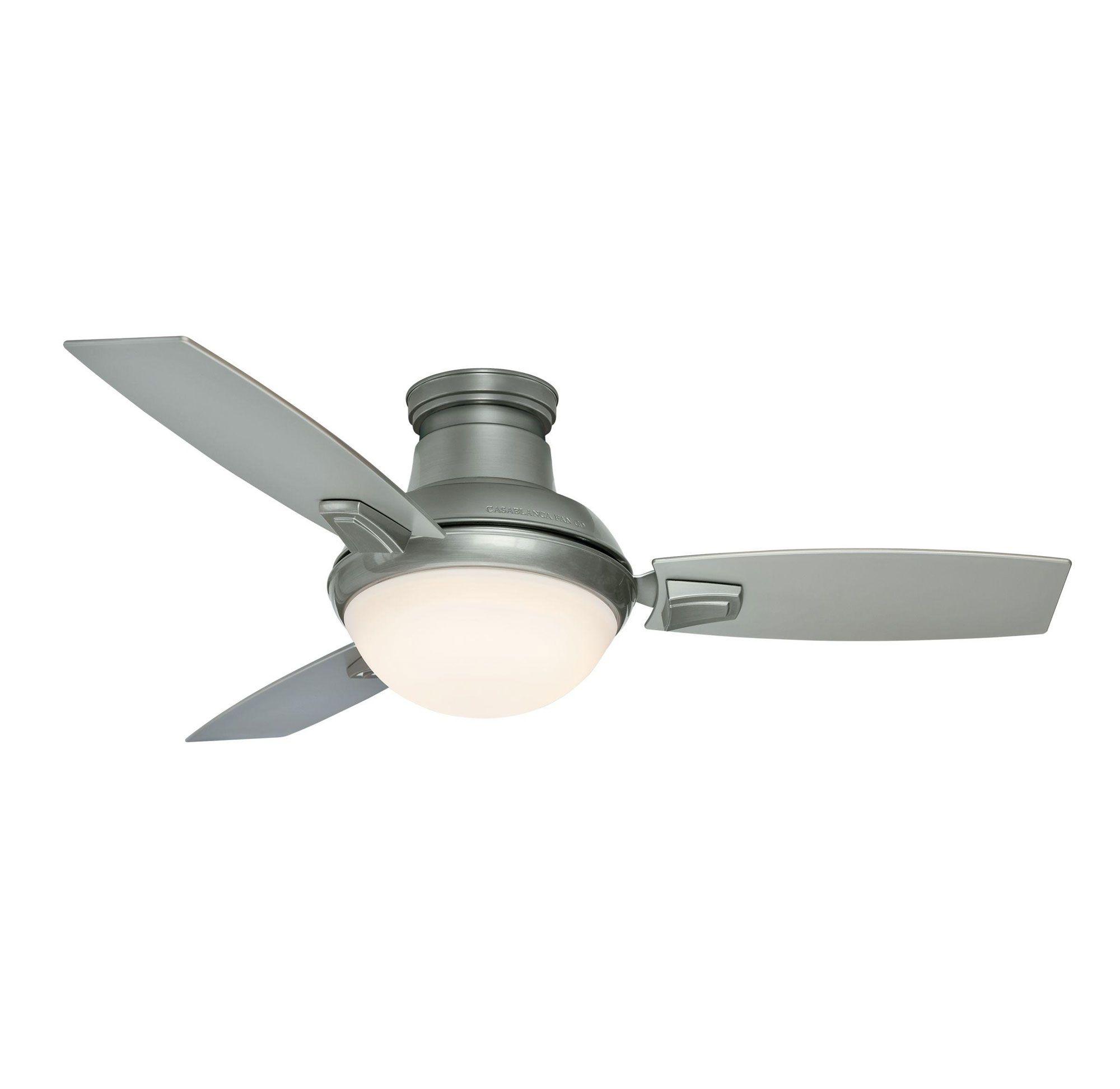 Verse 44 Inch Led Ceiling Fan By Casablanca Fan Cas 59155 Ceiling Fan With Light Ceiling Fan Led Ceiling Fan