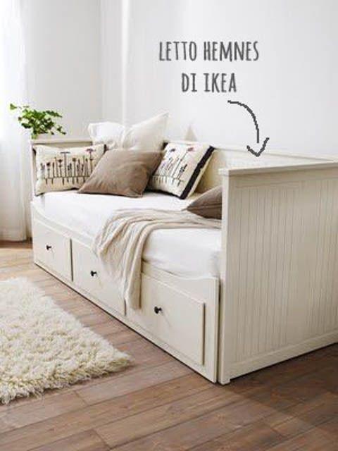 Letto Matrimoniale Ikea Con Materasso.Camera Per Gli Ospiti 10 Idee Da Copiare Camera Con Divano