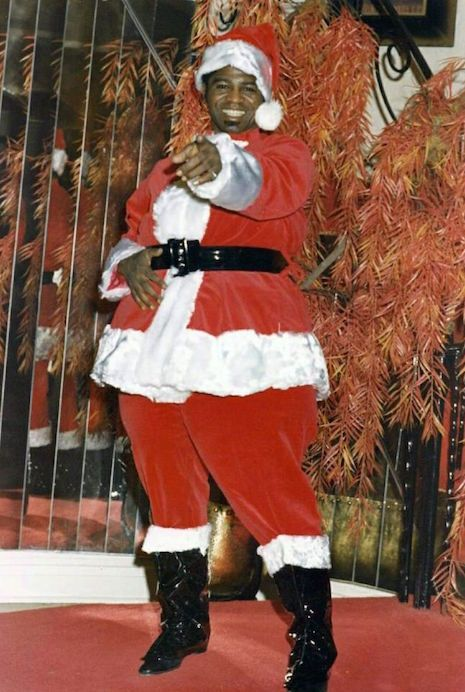 Alice Cooper Jimi James Brown Marc Bolan Frank Zappa And Many More Do Santa James Brown Happy Kwanzaa Santa Claus