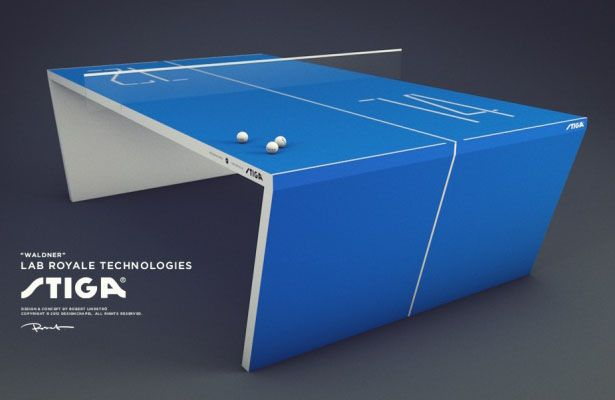 Great I Want One Of These Smart Ping Pong Tables STAT   Waldner : The Next  Generation