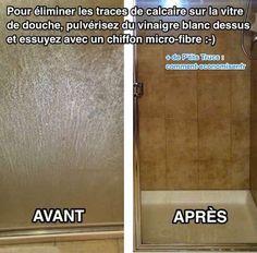 L\'Astuce Pour Enlever FACILEMENT les Traces de Calcaire Sur les ...