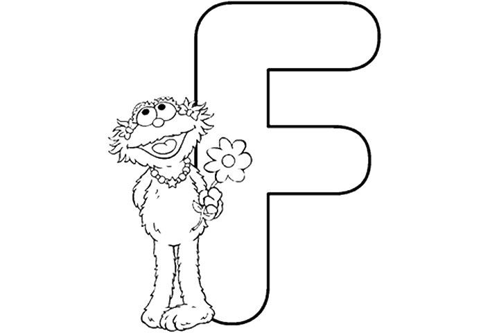 Pin By Shreya Thakur On Free Coloring Pages Sesame Street