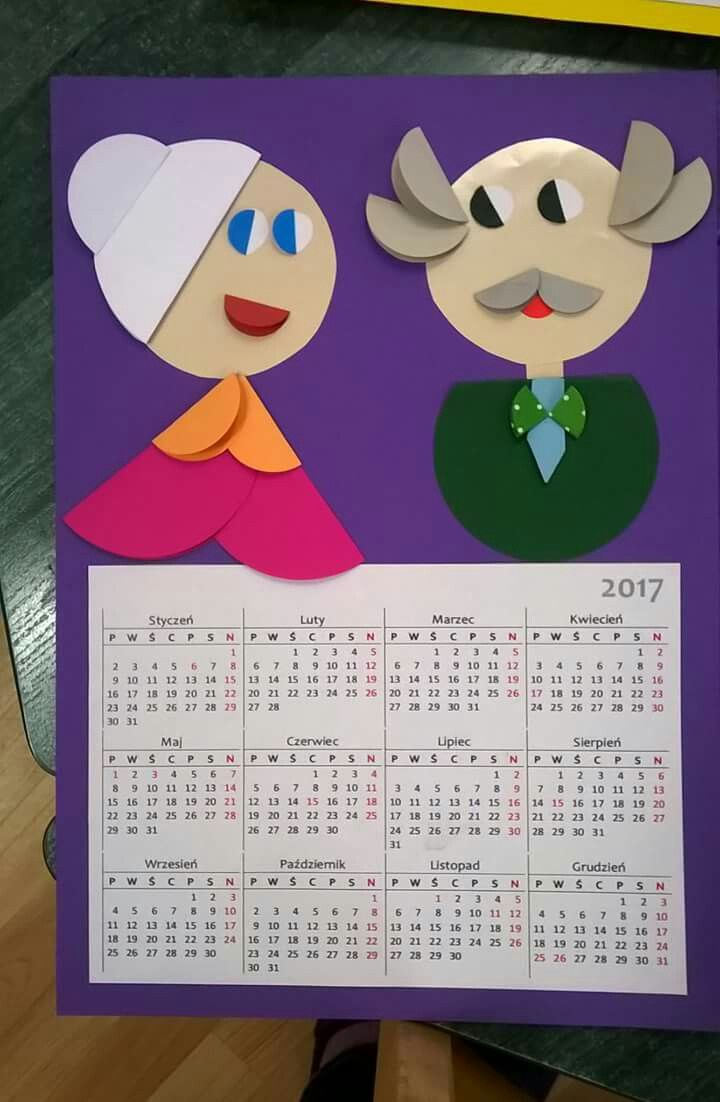 Kalendarz Dla Babci I Dziadka With Images Dzien Babci I