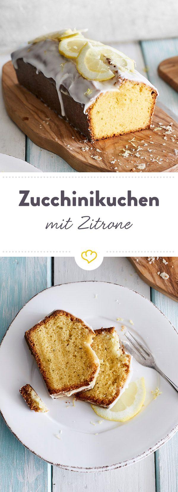 Photo of Søt, sur, saftig, sommerlig – den veganske sitronkaken med zucchini og …