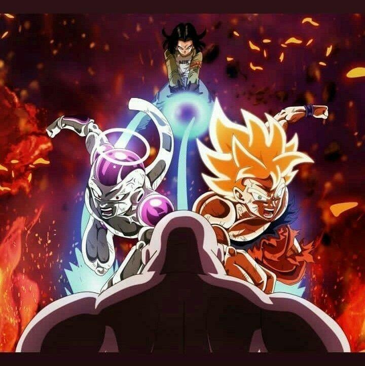 Android 17 Goku Freezer Vs Jiren Anime Dragon Ball Super Dragon Ball Super Goku Dragon Ball Wallpapers