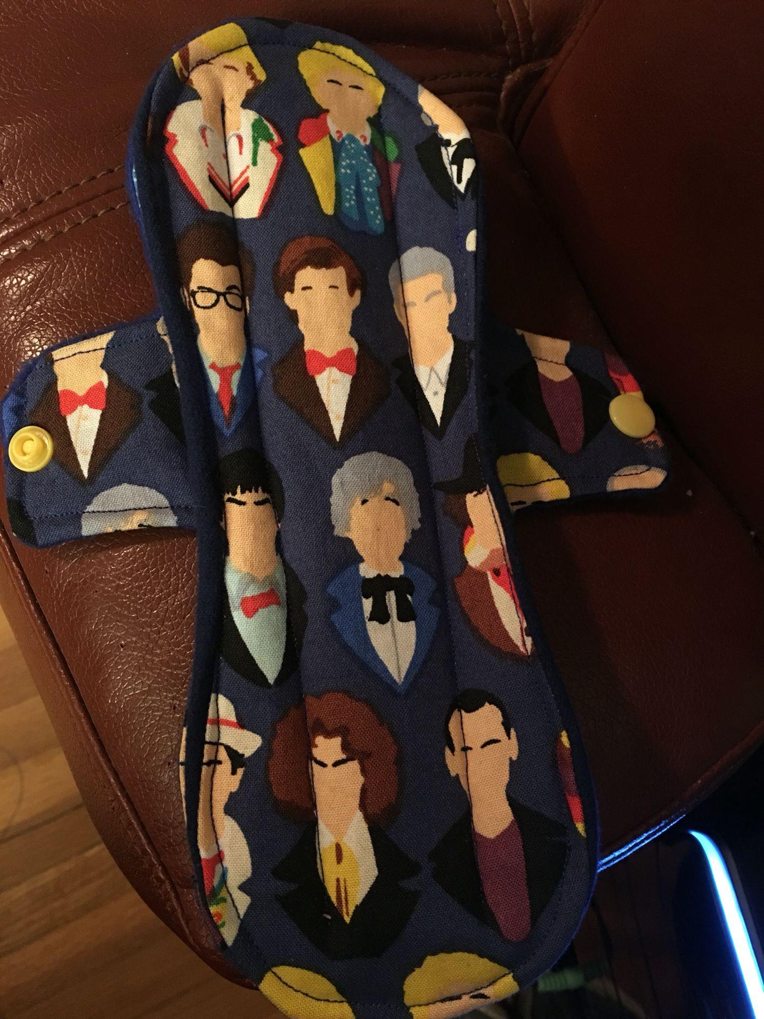I made a Doctor Who Pad!!!!!