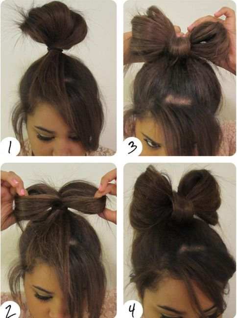 Pin On Cute Lazy Hair Style For School