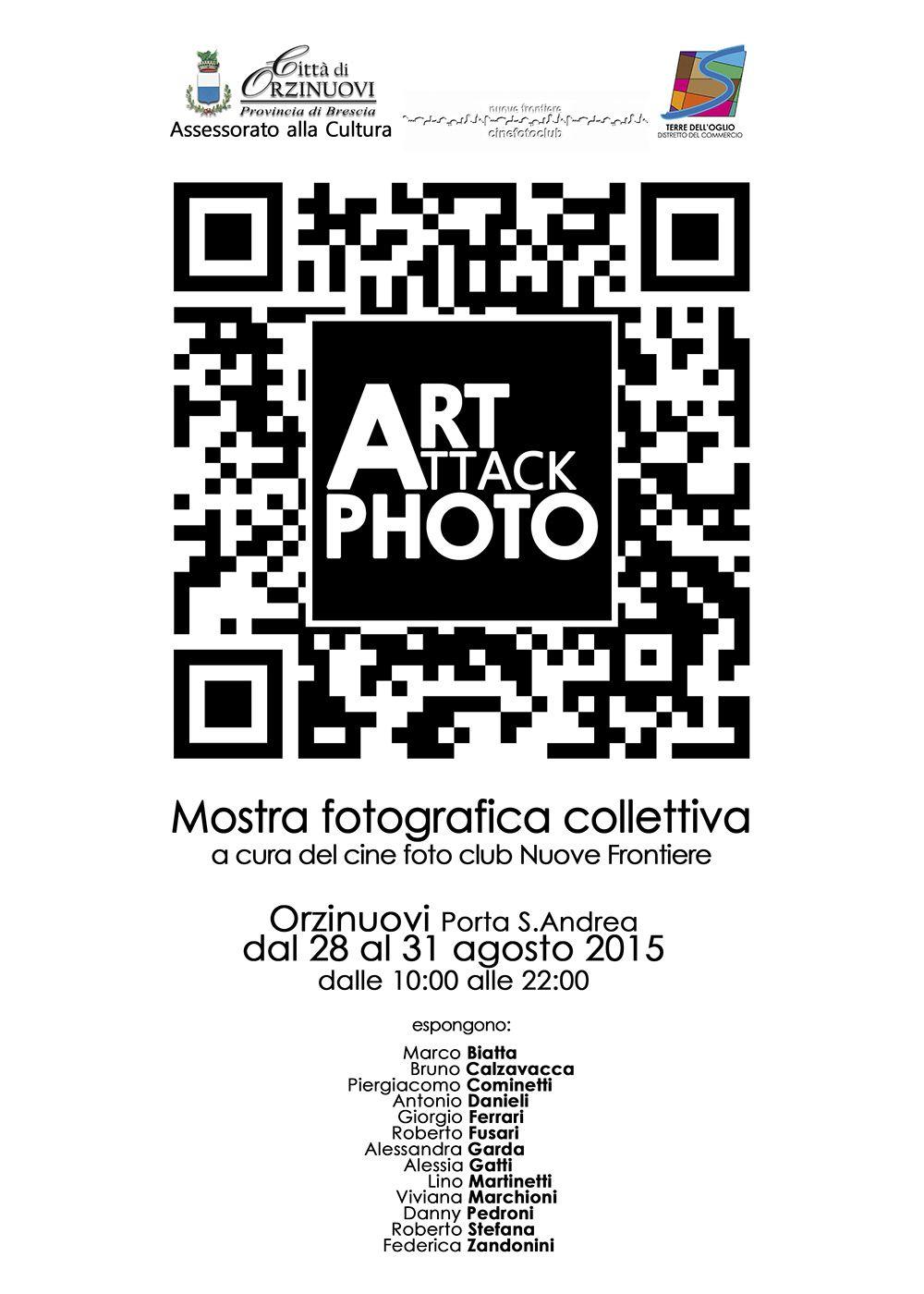 Fiera regionale di Orzinuovi con Art Attack Photo, a cura del Cinefotoclub Nuove Frontiere