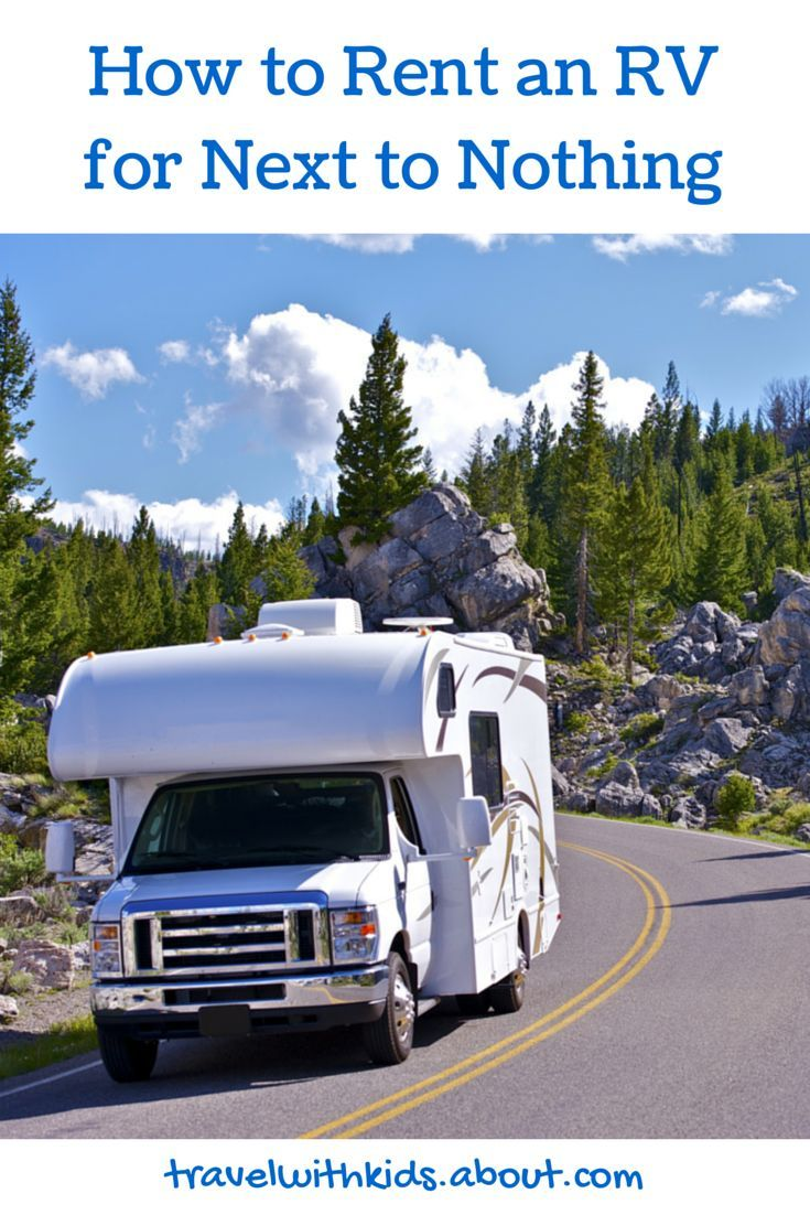 how to rent an rv for next to nothing | frugal living ideas