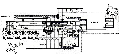 Zimmerman House 223 Heather Street Manchester Nh: frank lloyd wright floor plan