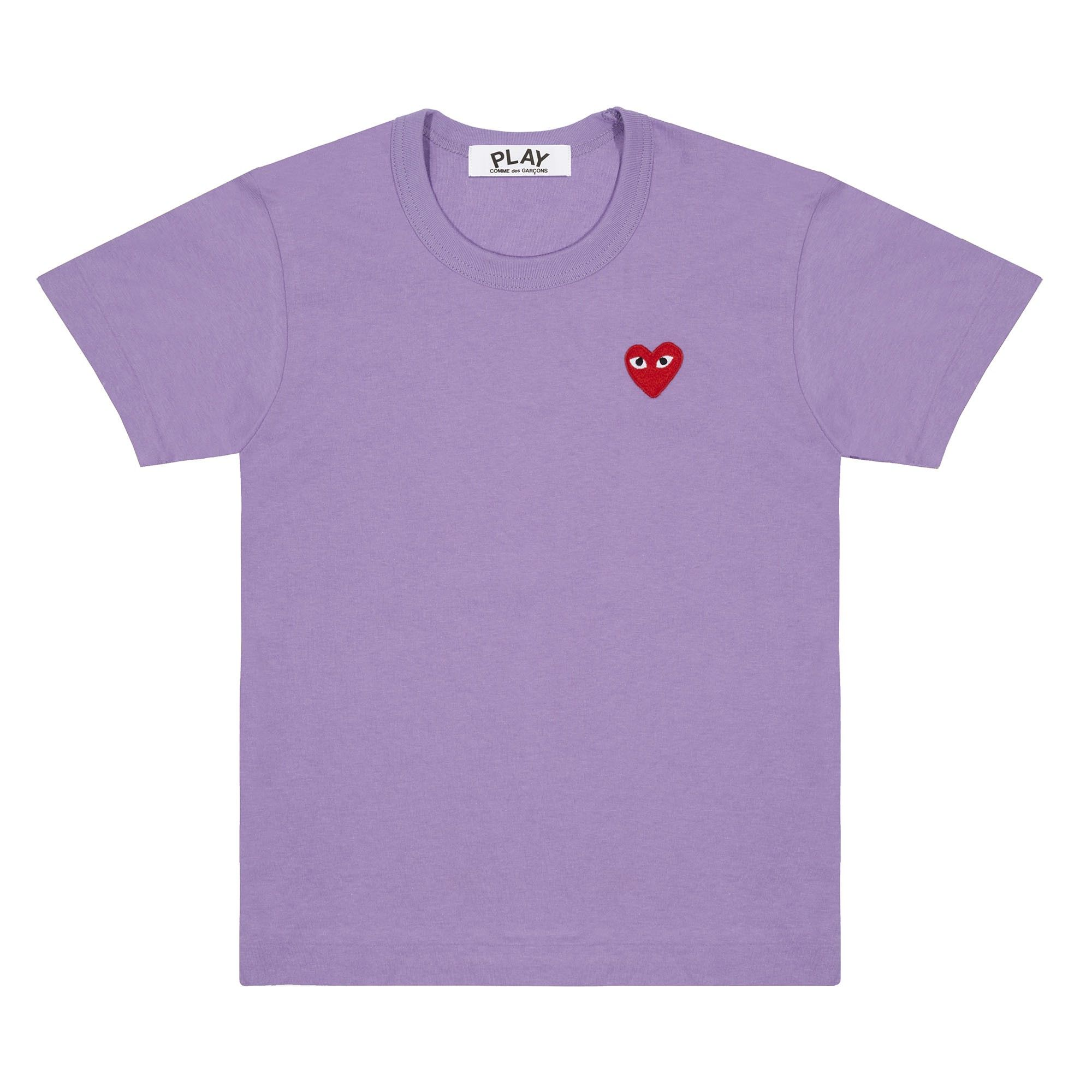 Play Colour Series T Shirt Red Heart (Purple) | T shirt