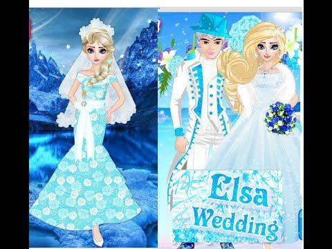 Nice Frozen Elsa And Jack Frost Wedding Designer Frozen Dress up Games