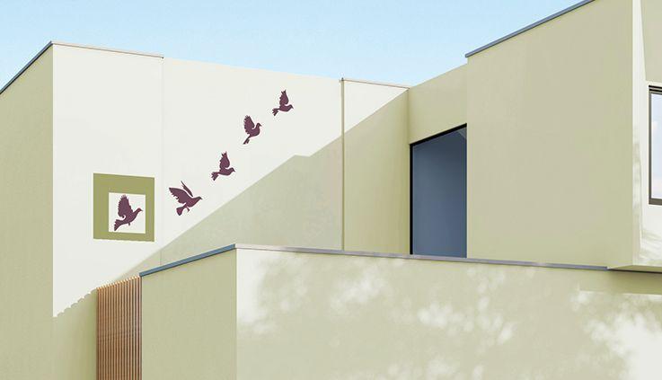 Get Range Of Wall Stencils For Exterior Home Designs Asian Paints Exterior Wall Art Stencil Wall Art Modern Paint Colors